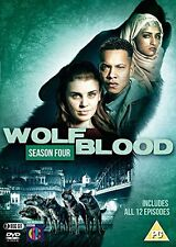 WOLFBLOOD : SEASON 4 -  DVD - UK PAL Region 2  - New & sealed