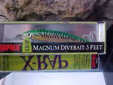 "Rapala 4"" X-RAP MAGNUM Diver XRMAG05 GGM Cast/Troll for Fresh/Salt Gamefish"