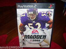 Madden NFL 2005 (PlayStation 2)