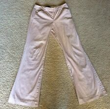 Body By Victoria Victoria's Secret The Christie Fit Pants Stretch Stripe Size 6