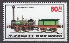 KOREA Pn. 1983 MNH** SC#2307/09 set,  Steam Locomotives Austria (1837).