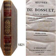 Oeuvres choisies de Bossuet T.17 Lebel 1821 Histoire des variations 3