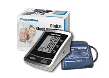 ChoiceMMed LCD Upper Arm Digital Blood Pressure Heart Pulse Monitor BP 120 times