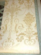 Josette gold wallpaper French toile price per roll