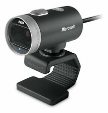 New, Microsoft LifeCam Cinema 720p HD Webcam 1393, Black by Microsoft H5D-00013