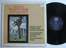 LP Hans Rudolf Stalder / Heinz Hofer - Klarinettenmusik Der Romantik - Jecklin