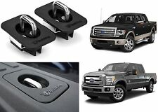 Pair Bull Ring 4028 FXT Flush Mount Retractable Bed Tie Downs For 1998-2016 Ford