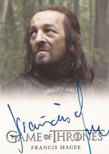 "Game of Thrones Season 4 - Francis Magee ""Yoren"" Autograph Card"