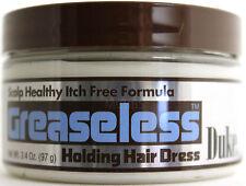 DUKE GREASELESS HOLDING HAIR DRESS  3.4 OZ.