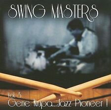 SWING MASTERS - Swing Masters, Vol. 3: Gene Krupa... CD * Excellent Condition *