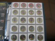 1990 TOPPS BASEBALL COIN SET - 60 COINS - VERY RARE COMPLETE SET -