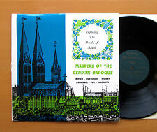 EXP 1 Masters Of The German Baroque Ritter Buxtehude etc ORYX Stereo EXCELLENT