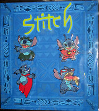 Disney Parks Booster Pin Pack Set STITCH Hula + Cape + Ice Cream + Space - NEW