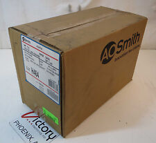 New A.O. Smith Three Phase ODP Resilient Base Motor, 1HP, 3450 RPM, H464
