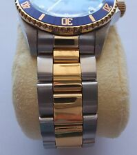 20mm Curved End Stainless Steel Two Tone Bracelet FITS Invicta 8928OB 8928 OB