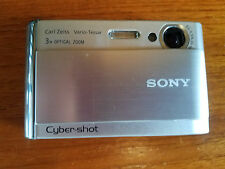 Sony Cyber-shot DSC-T70 8.1 MP Digital Camera - Silver