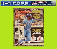 CHRIS CHAMBLISS 1983 BASEBALL DIGEST MAGAZINE ATLANTA BRAVES BASEBALL