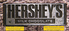 HERSHEY'S MILK CHOCOLATE - LETTERPRESS PRINTER'S BLOCK - EXTREMELY RARE