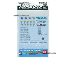 GUNDAM - GD-46 00 Celestial Being Series Decals Bandai