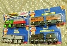 Thomas & Friends Wooden Railway Spencer Annie Clarabelle In James Race Percy Lot