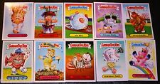 2015 GARBAGE PAIL KIDS SERIES 1 COMPLETE MASCOT STICKERS SET 10/10 CARDS GPK