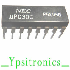UPC 30C INTEGRATED CIRCUIT RF AMPLIFIER DIP 16 NEC -NEW