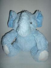 "VGUC Beansprout Light Blue Elephant Plush 11"" Stuffed Animal Lovey Lovie Soft"