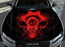 Gear Of War Car Bonnet Wrap Full Color Vinyl Sticker Decal Fit Any Car