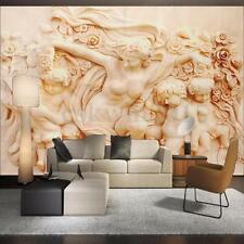 3D Papier Peint Autocollant Angel Style Romain Mural Art Décoration 140x70.5 cm