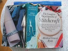 THE COMPLETE ENCYCLOPAEDIA OF STITCHCRAFT By MILDRED GRAVES RYAN. 700 Page H/B.