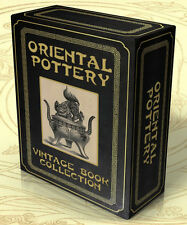 ORIENTAL POTTERY 54 Vintage Books on DVD-Rom China, Chinese Ceramics, Porcelain