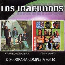 IRACUNDOS LOS-DISCOGRAFIA COMPLETA 10: Y TE HAS QUEDADO SOLA CD NEW