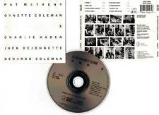 "PAT METHENY , ORNETTE COLEMAN... ""Song X"" (CD) 1986"