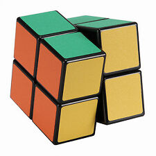 Magic Cube 2x2X2 PVC Black Super Smooth Speed Rubik's Cube 2 Layers