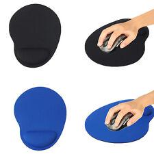 Neu Mauspad mit Schaumstoff Handauflage Mousepad ergonomisches Maus Mat Schwarz