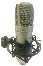 Pulse SCM100 Studio Condenser Microphone Large Diaphragm Cardoid Mic Recording