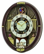 Seiko Classic Melody In Motion Clock # QXM488BRH