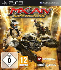 SONY PS3 MX vs. ATV Supercross PlayStation 3 Offroad Super Moto Cross deutsch