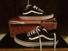 Vans Old Skool Trainers Size 8.5 Old School Shoe Worn Twice