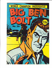"Big Ben Bolt  No 39 1968 Austrailian -""Followed By Car Cover! """