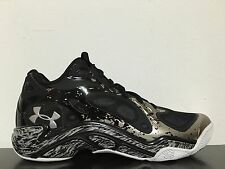 Under Armour TB Anatomix Spawn Low UAA Black Metallic Silver SZ 8 [1249196-019]