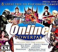 On! DVD Online Powerpak: Special Issue 1 (PC, 2009, 8 Full Games!) New!
