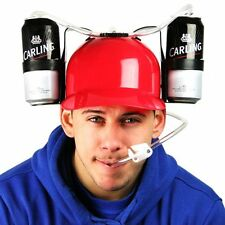 New RED Beer Drinking Hat, party hat, Stag & Hen night joke gift 93/2001