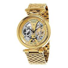 Stuhrling Original 797 02 Men's Legacy Analog Automatic Self Wind Gold Watch