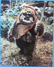 PHOTO STILL '83 vintage fan club WICKET the EWOK Star Wars fan club collectible