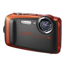 Fuji FinePix XP90 Tough Camera Orange 16.4MP 5x Zoom