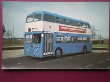 POSTCARD 1967 DAIMLER CVG 6LX - DERBY CORPORATION BUS NO 195