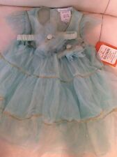 Pottery Barn Kids Baby Flapper Mint Tulle Dress Costume 6-12 mo Purim