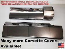 Corvette C4 1994-1996 LT1 Stainless 3Pc FUEL RAIL COVER COVERS engine chrome