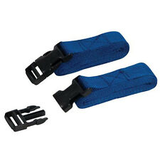 2 Piece 2m x 25mm Clip Buckle Straps Set - For Securing Loads To Roof Racks